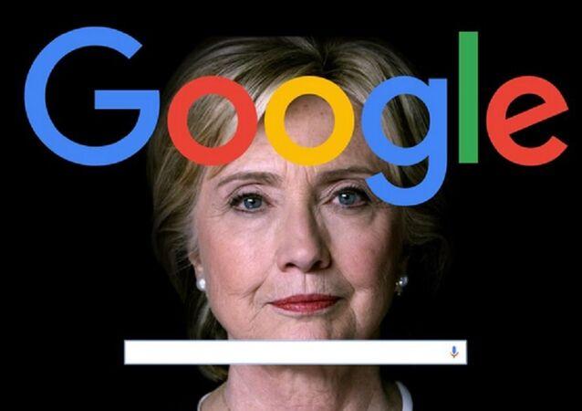 Manipulação da Google pode ter afetado opinião pública nos EUA em relação à presidenciável Hillary Clinton