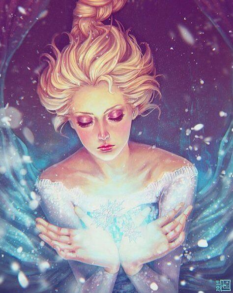Rainha Elsa de Arendelle (Rainha da Neve)