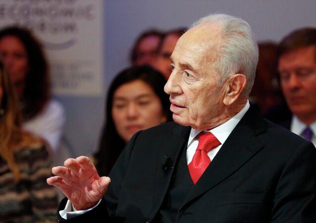 Shimon Peres, ex-presidente de Israel