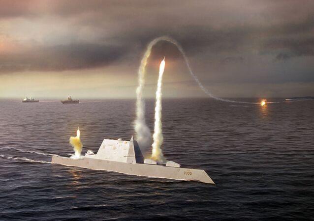 Contratorpedeiro de nova geração USS Zumwalt