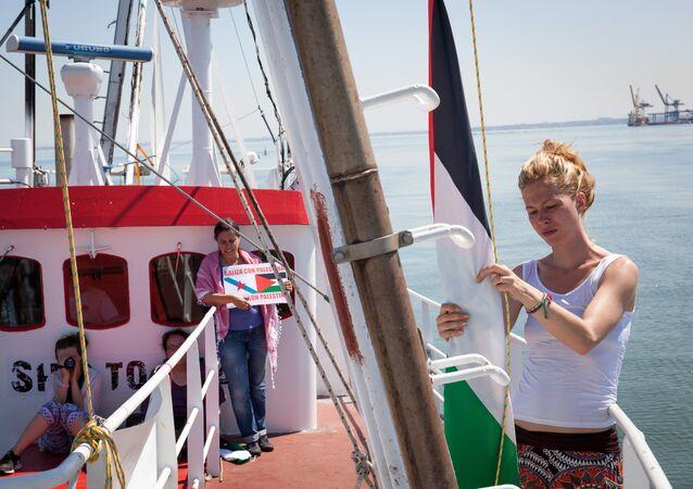 Missão 'Mulheres rumo a Gaza'