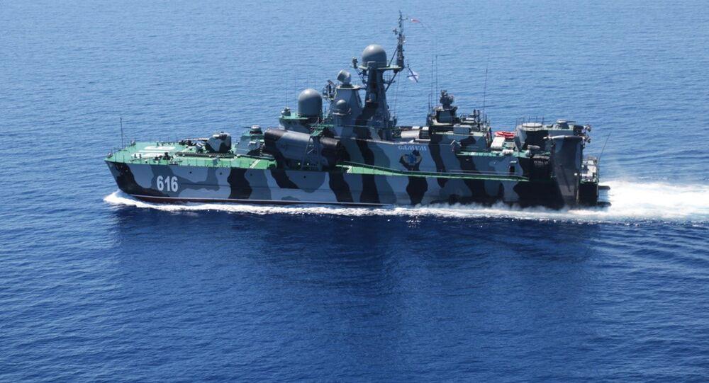 Exercícios conjuntos no mar do Sul da China