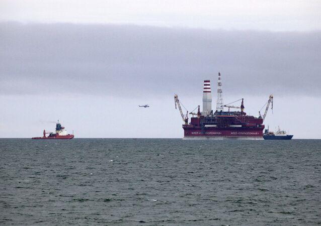 Exploração de petrôleo no Ártico russo