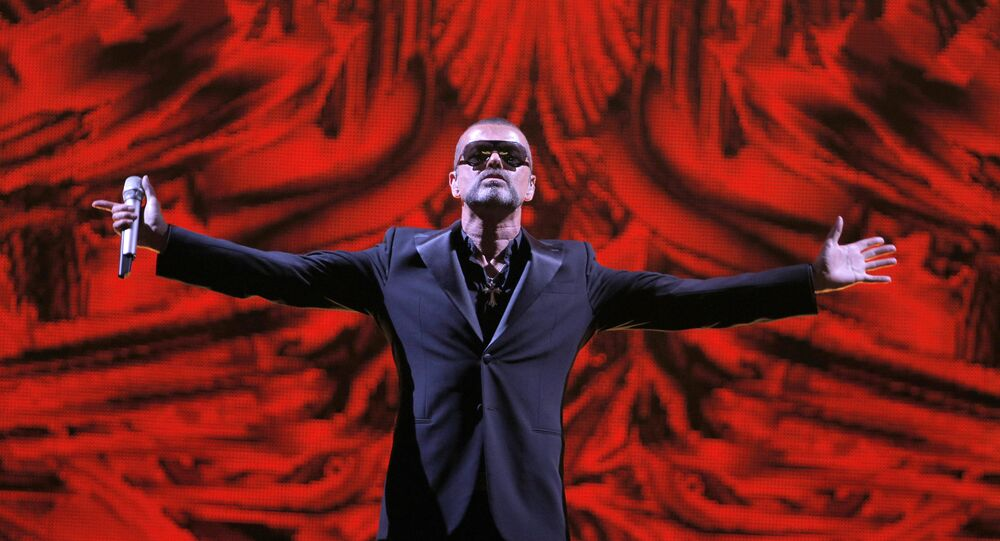 Cantor famoso George Michael