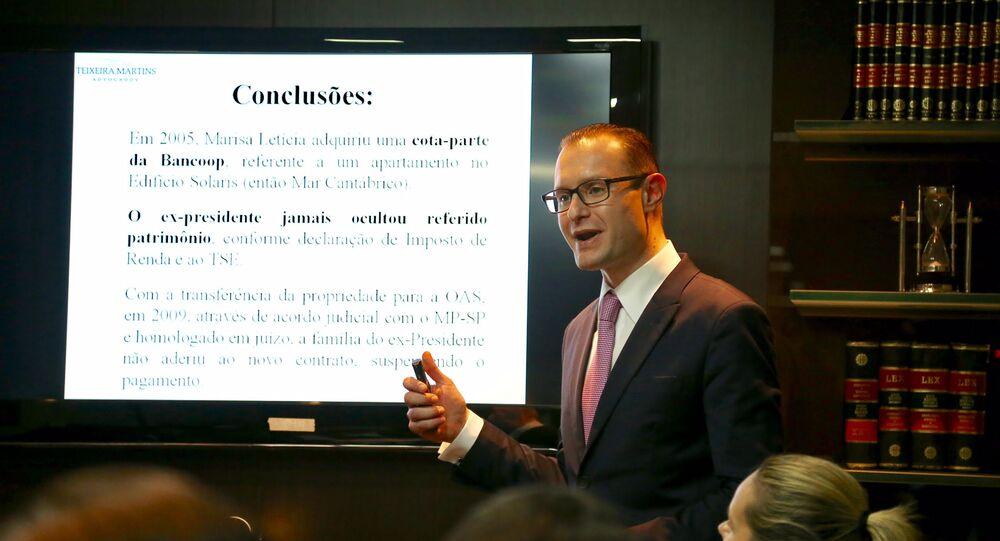 Advogado Cristiano Zanin