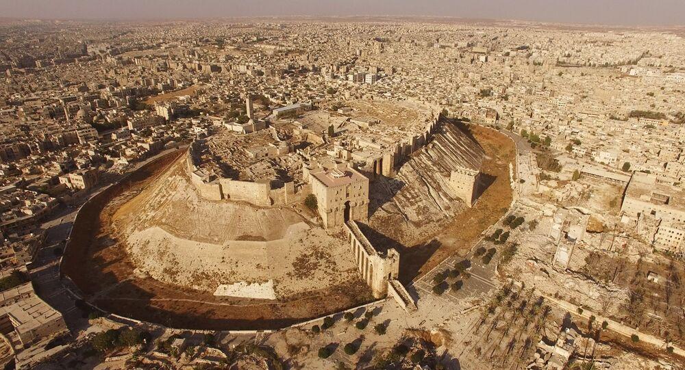 Cidade síria de Aleppo, 3 de setembro de 2016