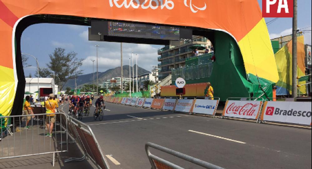 Prova de ciclismo - Paralimpíadas Rio 2016