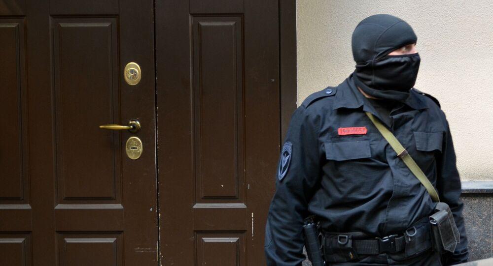 Policial russo (arquivo)
