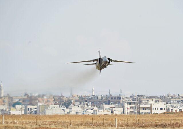MiG-23 da Força Aérea síria (foto de arquivo)