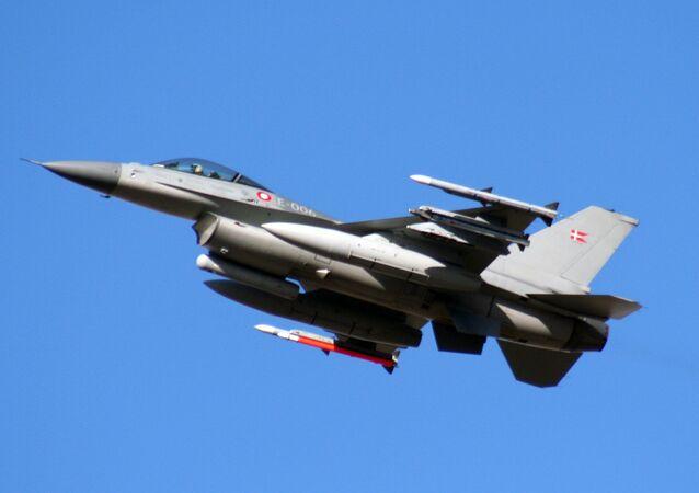 Caça F-16 da Dinamarca