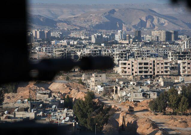 Um bairro de Damasco ocupado pela Frente al-Nusra