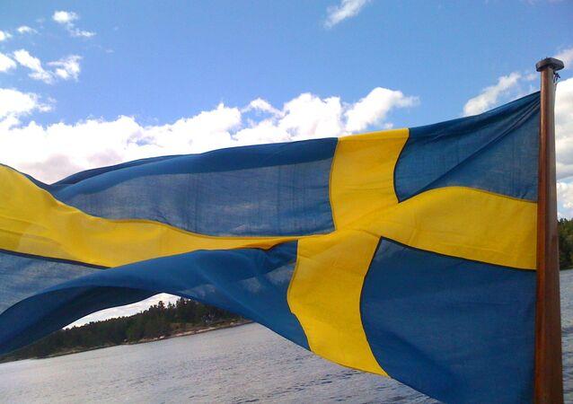 Bandeira nacional da Suécia
