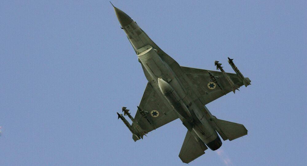 F-16 da Força Aérea de Israel, foto de arquivo