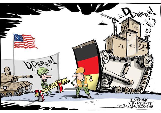 Força militar dos EUA é uma 'persona non grata' na Alemanha