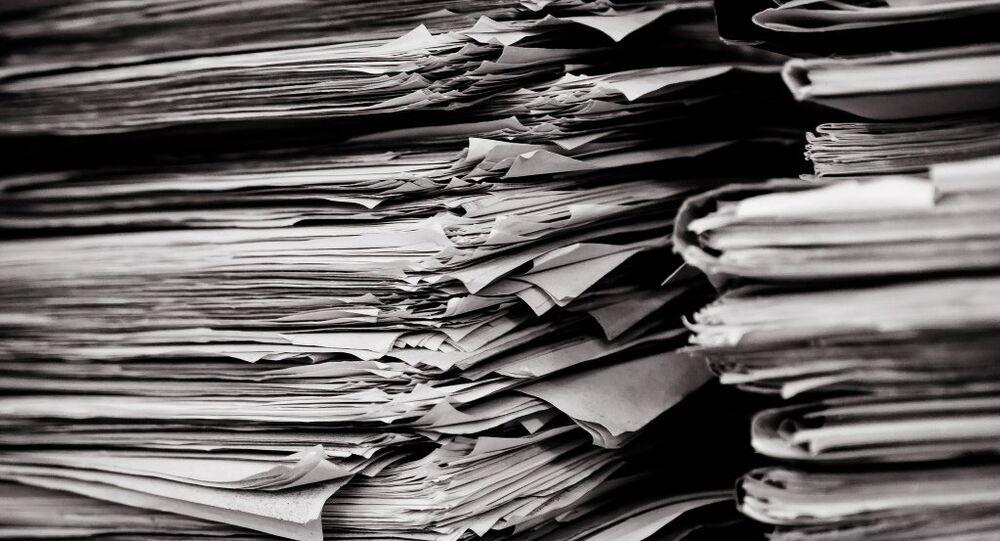 Pilha de documentos