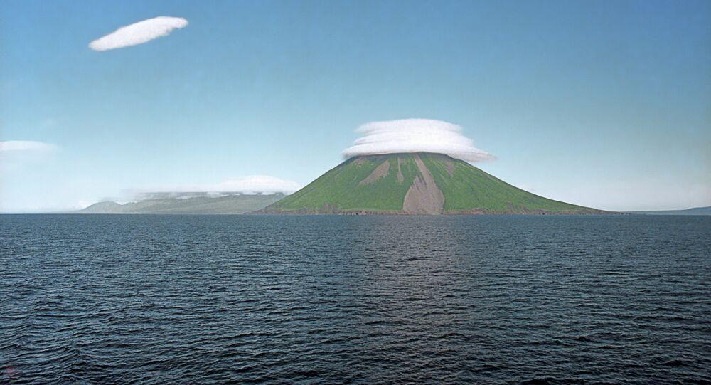 Panorama das Ilhas Curilas
