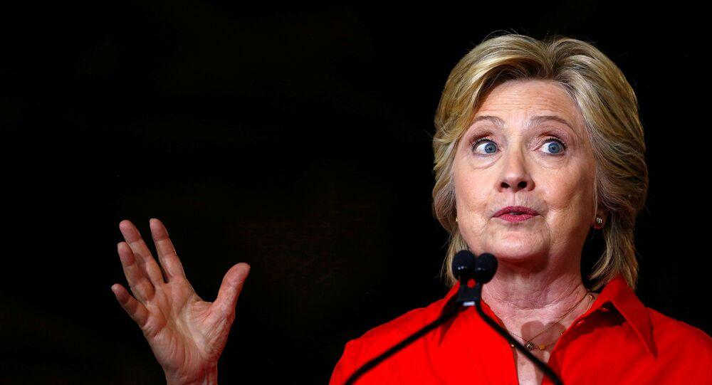 Hillary Clinton, ex-secretária de Estado e candidata à presidência dos EUA