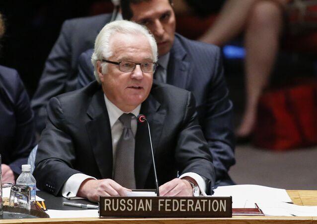 Vitali Churkin, embajador ruso ante la ONU