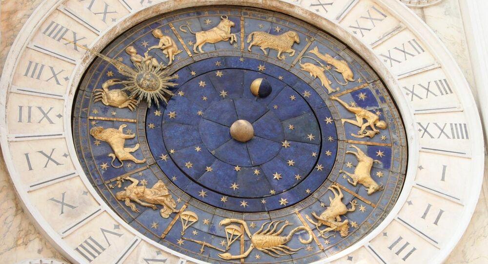 Relógio astrológico, Torre dell'Orologio, Veneza, Itália