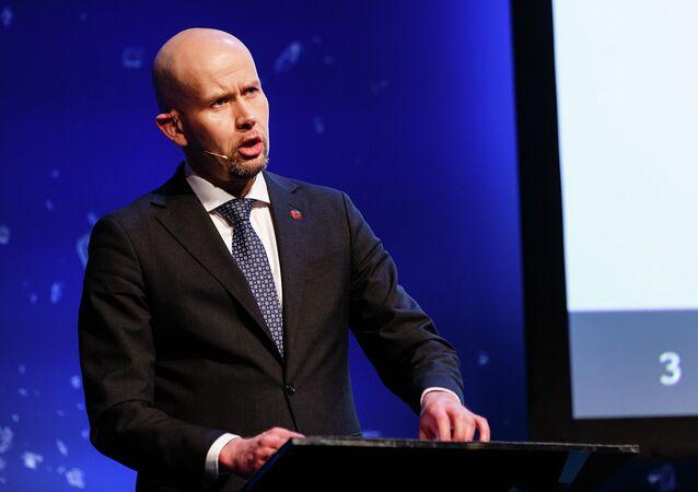 Tord Lien, ministro da Energia de Noruega