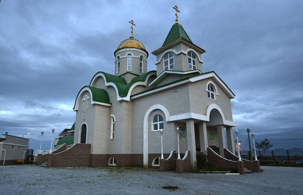 Igreja da Santíssima Trindade em Yuzhno-Kurilsk