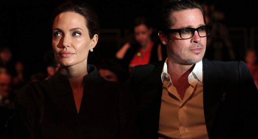 Os atores de Hollywood, Brad Pitt e Angelina Jolie. Foto de arquivo. Junho, 13, 2014