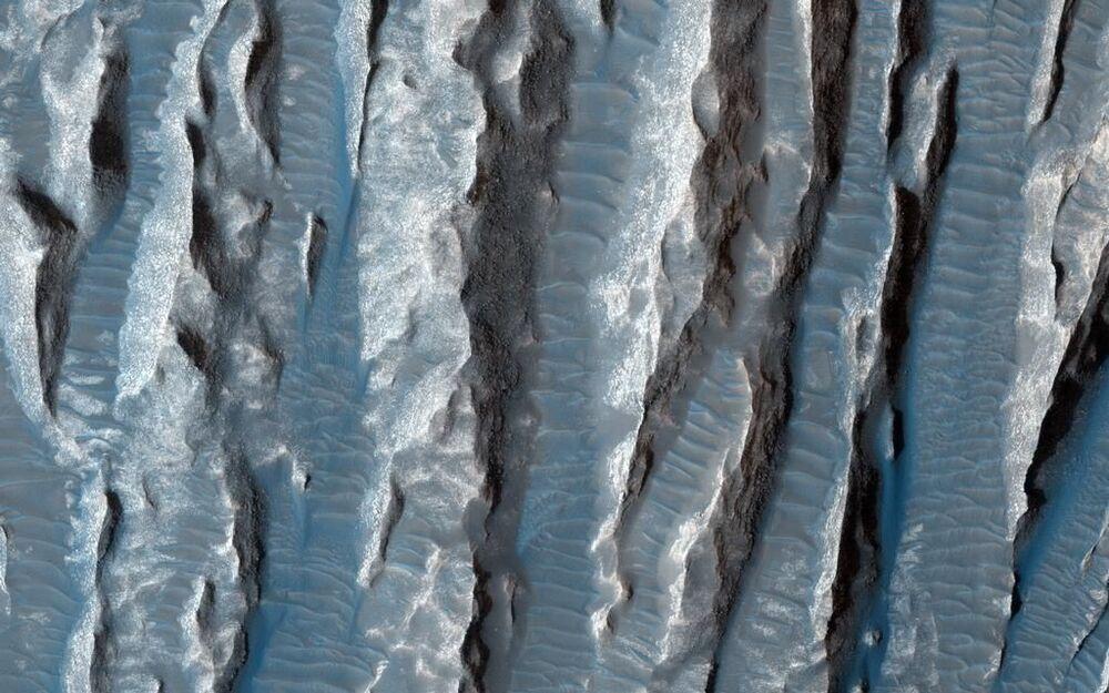 Arsinoes Chaos é uma planície marciana com diâmetro de cerca de 200 km