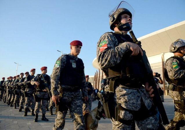 Homens da Força Nacional de segurança (arquivo)