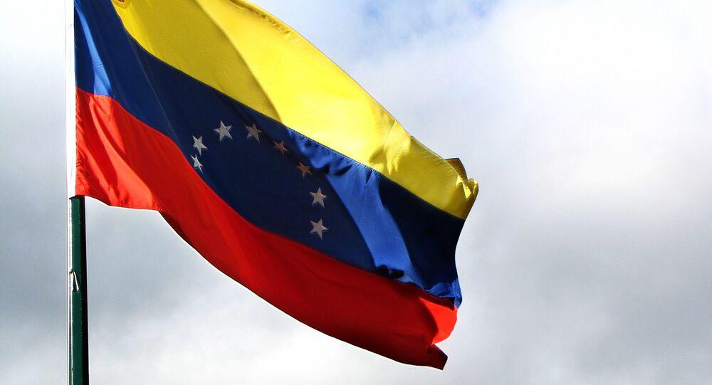 Bandeira Nacional da República Bolivariana da Venezuela