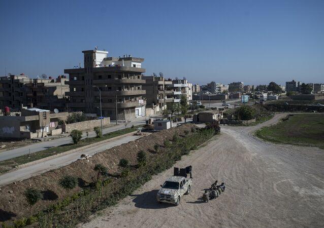 Cidade de Al-Qamishli no nordeste da Síria (foto de arquivo)