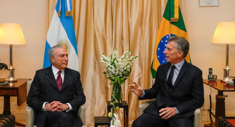 Temer Mercosul