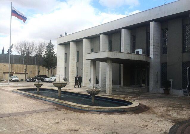 Edifício da embaixada russa em Damasco, Síria