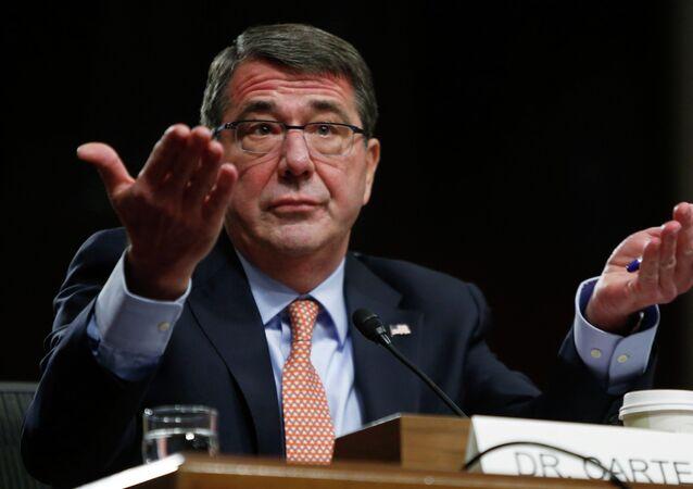 Secretário de Defesa dos EUA, Ashton Carter