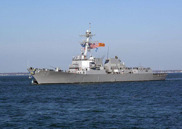 O contratorpedeiro USS Jason Dunham