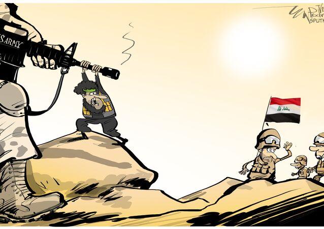 Aviação dos EUA atacou milícias no Iraque em vez de terroristas