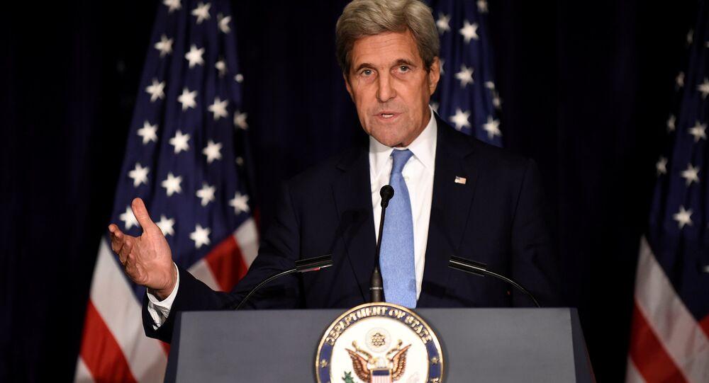 Ex-secretário de Estado dos EUA, John Kerry