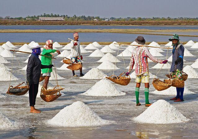 Produção do sal