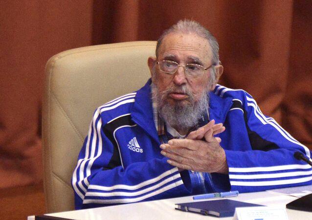 Ex-presidente de Cuba, Fidel Castro