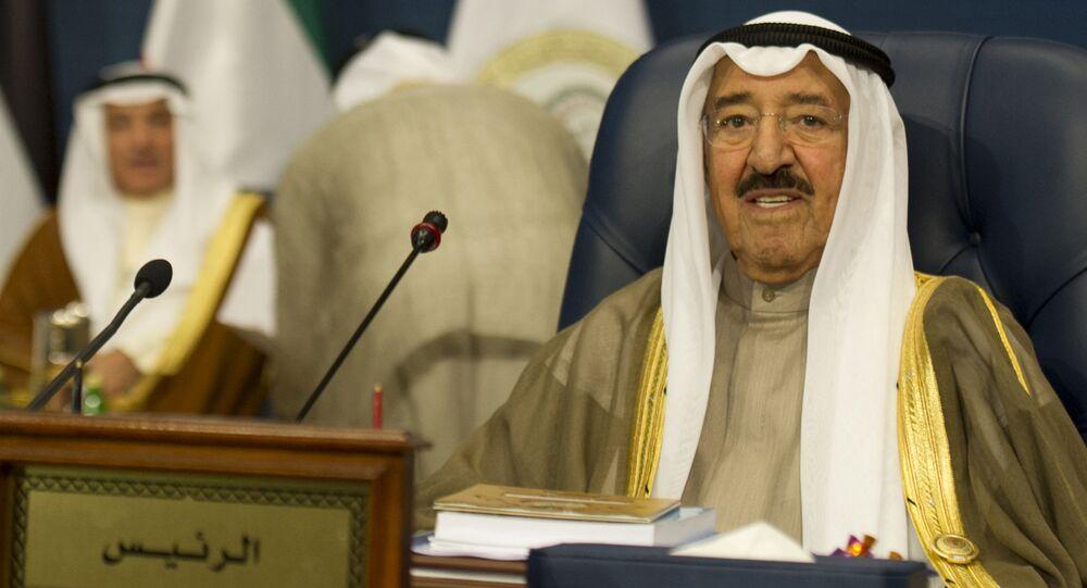 Emir do Kuwait, xeique Sabah al-Ahmad al-Sabah
