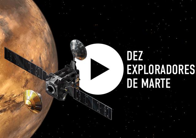 Dez exploradores de Marte