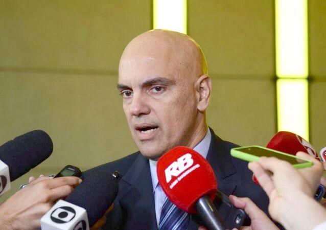 Ministro Alexandre de Moraes, do STF.