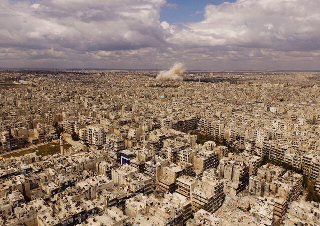 Aleppo (foto de arquivo)