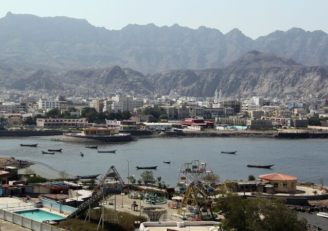 Porto de Aden, no sul do Iêmen