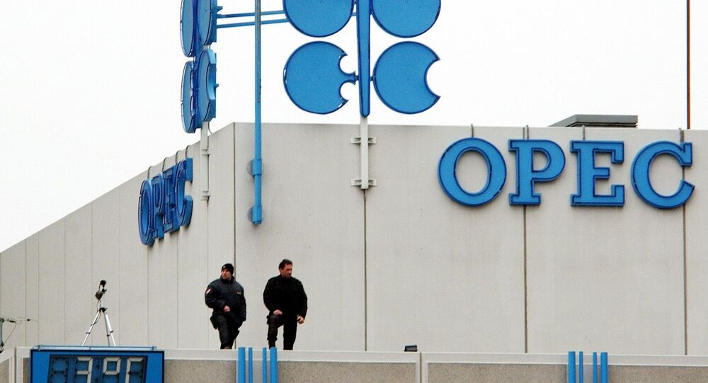Sede da OPEP (ou OPEC, na sigla em inglês) em Viena, Áustria
