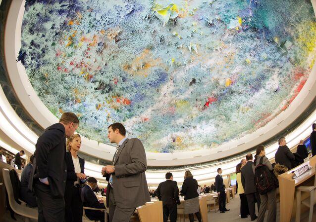 Reunião do Conselho de Direitos Humanos da ONU, Genebra, 2 de março de 2015