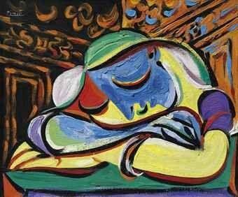 Jovem Adormecida (1935), retrato de Marie-Thérèse Walter, modelo e amante de Picasso