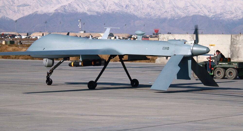 Um veículo aéreo não tripulado dos EUA (imagem referencial)