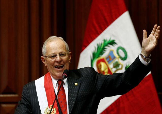 Pedro Pablo Kuczynski, presidente do Peru