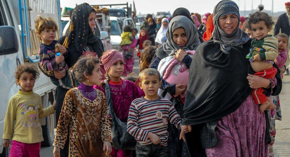 Moradores de Mossul