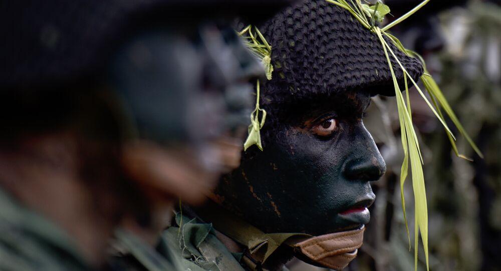 Soldados das Forças Armadas venezuelanas (foto do arquivo)